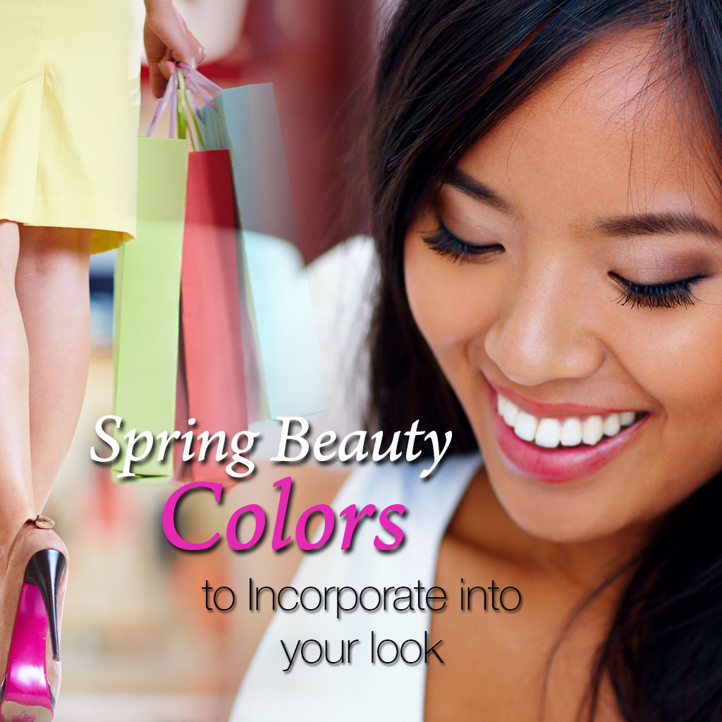 Spring Beauty Colors to Incorporate into Your Look