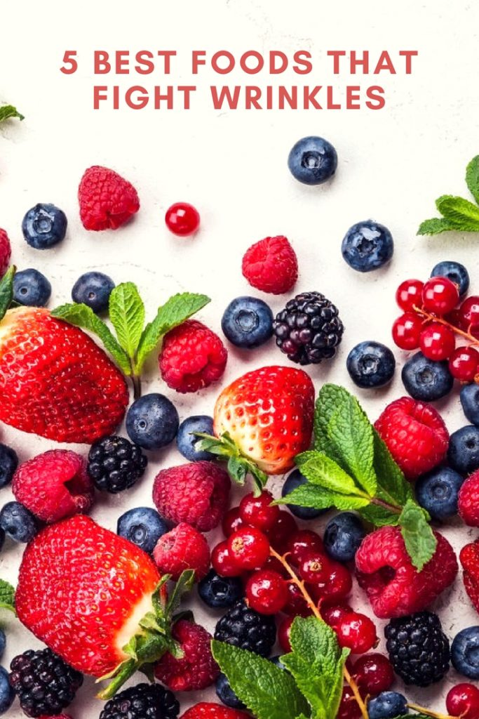5 Best Foods that Fight Wrinkles